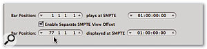 With applications such as Logic, you can define a SMPTE offset such that your cut-down version starts at 'zero'.