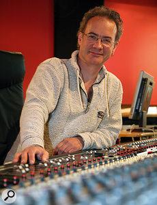Pete Thomas in his studio.