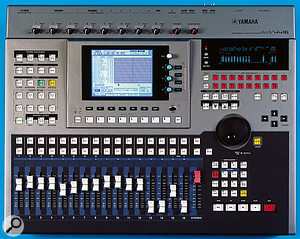 The venerable AW4416 proved to be popular, and was regarded as the best in its class by some, due to its powerful routing structure, which was derived from Yamaha's 0-series mixers.