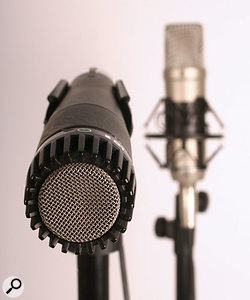 Some interesting effects can be achieved using multiple microphones on vocalists. As ever, experimentation is the key...