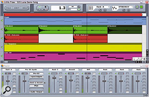 Luna Free is a simple yet effective application which, as its name suggests, is free! It works on Macs and PCs, and can be upgraded (at a small cost), should the limitation of only being able to run four VST instruments simultaneously put you off.