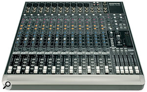Mackie's 1642 VLZ3 mixer, with eight good-quality mic preamps, looks like a good bet if multitrack drum recording is part of your studio workload.