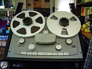 Q. How do I maintain my tape machine?