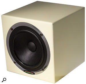 A single 'grotbox', such as this Avantone Mixcube, will give a  better idea of musical balance than headphones or unsuitable monitors. 'Grotboxes' are useful in all studios, large and small.