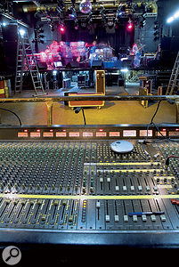 Sound engineers can differ over whether to set up stage monitoring or the front-of-house sound first. Our contributor likes to get arough FOH mix done and then move onto the wedges, leaving fine-tuning until the band are on stage.