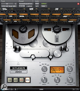 Analogue tape machines are complex things and there's an awful lot of work involved in recreating their sonic effects authentically - there's more to it than just a bit of harmonic distortion and saturation.