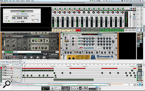 With its separate mixer, multiple racks, audio tracks and new devices, Reason 6 is ahuge update from previous versions.