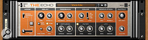 The Echo is anew device in Reason 6, offering tape-style delay effects.