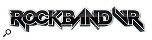 Rock Band VR logo.