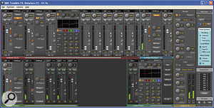 RME's Totalmix FX software offers comprehensive routing and then some...