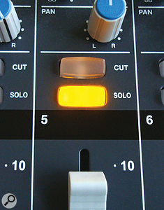 As when mixing, don't expect to judge the suitability of an overdub's timbre while you're listening to it in solo. It's how it fits within the context of your specific arrangement that matters most.