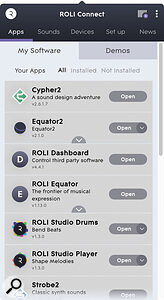 ROLI Connect: one app to rule all your ROLI hardware, software and assets.