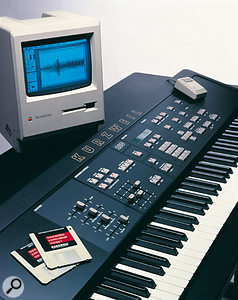 The K250 was revolutionary in being a digital synthesizer designed with the musician's needs in mind.