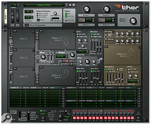 The Thor Synthesizer In Reason 4