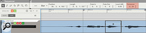 2. Simple tuning issues can be fixed by transposing clips.