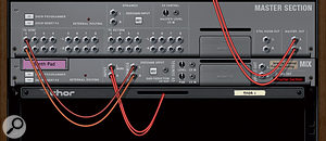 'Keying' or triggering a gate from an audio signal elsewhere in Reason is quite straightforward. First, connect an FX Send to the gated channel's side-chain input. Then enable the send (and set it to pre-fader mode) in the mixer. Finally, adjust the channel's gate section to suit your needs.