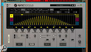 Screen 3. Mod depth modulation can be baked into the curve by simply varying the peaks.