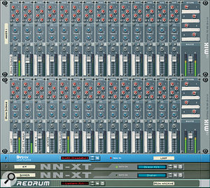 Multiple drum sources can be submixed in aseparate mixer, allowing the complete drum mix to be processed asawhole.