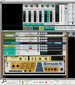 3: Setting up parallel compression is easy in Reason.