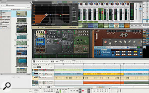Reason 8, coming this September, gets an updated interface and new amp simulators from Softube.