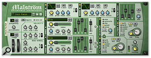 Malström's Filters, Shaper, Envelope, and Mod B modules can all be used to process external signals.