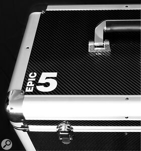 Unusually for apair of monitors, the Epic 5s ship in their own custom flightcase.