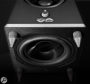 Rather than using a traditional reflex port, the Epic 5's bass loading is achieved by way of an auxiliary bass radiator.