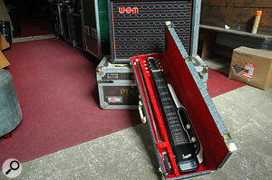 "Among Richard Hawley's ""50 or 60 guitars"", this Supro lap steel is a  favourite, while he is a  fan of WEM Dominator amps, especially when used in pairs."