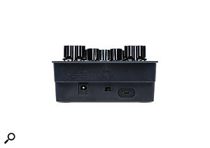 Each Aira module has a  power socket, on/off switch and a  Micro USB port on its back panel.