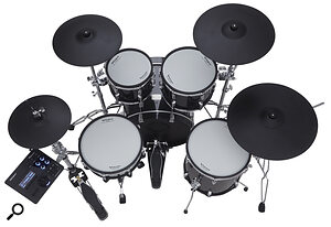 Cosmetically, the VAD506 is close enough to the real thing to tempt even the most technophobic drummer.