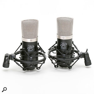 The Mini K47 is available in matched stereo pairs, with which you also get two elastic shockmounts.