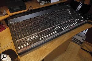 Better than Steinway: Steve Brown's Roland XV88 keyboard.