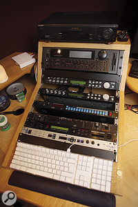 Old they may be, but some of Brown's rackmounting sound modules saw good service on Seasons Of My Soul, especially the Emu Proteus.