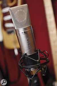 Almost all of Rumer's vocals were tracked with astandard Rode NT2 condenser mic — except those that were done with an SM58.