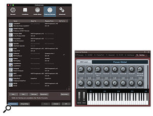 A few steps are required to configure a tactile controller before it can be readily used in Studio One. First, it has to be defined in the External Devices preferences panel. This will cause it to show up in lists of controllers within the program. Once the controller itself is established, Studio One needs to know about the individual controls it contains.