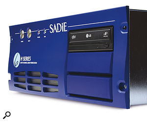 A key part of SADiE's PCM‑series products is their own custom‑built PC.