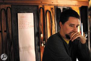 Spacebomb engineer, producer, arranger and musician Trey Pollard.