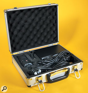 The X1T ships in its own case, along with a mic clip, power supply, power cable and seven-pin XLR.