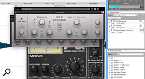 The Plug-In Chain panel lets you apply a  unique series of plug-ins to any open audio file, and SFPM3 seemed happy to work with a  range of third-party plug-ins as well as its own built-in ones.