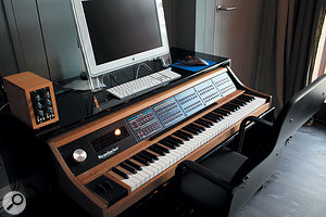 The old but still powerful New England Digital Synclavier remains one of Benny Andersson's preferred writing tools.