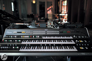 This massive — and ultra-rare — Yamaha GX1 synthesizer used to reside at ABBA's Polar Studios.