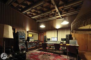 The main Funkhaus control room.