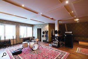 Studio 1's capacious live room.