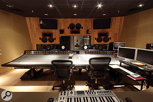 The Studio 2 control room features a G-series SSL, in contrast with the J-series desks in the other three rooms.