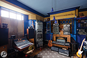 The studio began as a  private project, and owner Martin King retains his own writing and production room.