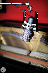 Regarded as one of the best ribbon mics ever made, RCA's KU3A was nicknamed the 'Skunk' thanks to the white stripe just visible in this photo.