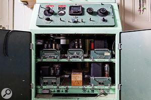 Vintage recording: a  massive EMI BTR2 reel-to-reel machine.