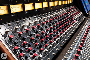 The Rupert Neve Designs 5088 Shelford Edition console has 32 input modules of the 5052 type.