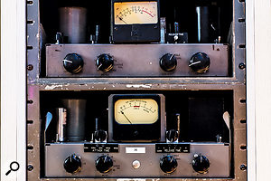 The arsenal includes four rare RCA BA-6A limiters.