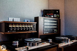 Clients wanting to record to tape can take advantage of BangyBang's Stephens machines, renowned as being among the best-sounding reel-to-reel recorders ever made.